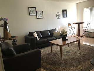 1bd/bath comfortable, affordable apt /WiFi/ parking