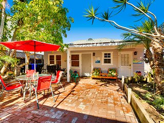 OB Bungalow, Dog Friendly, Spa, Tropical Garden, San Diego