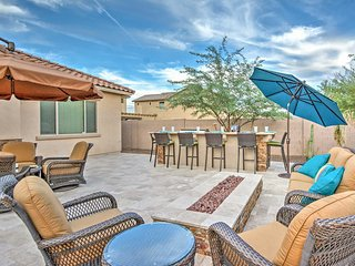 Immaculate 3BR Goodyear Home w/Fire Channel, Soaking Tub & Gourmet Kitchen - Easy Access to Sport Venues, Hiking, Lakes & More!
