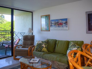 The condo offers two bedrooms, full bathroom, kitchen and living room