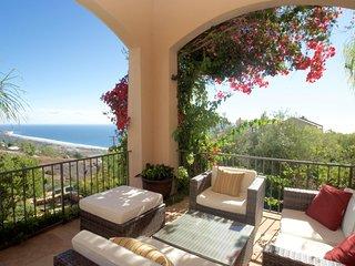 #340 Ocean View Malibu Mediterranean Villa with Spa