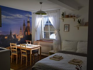 Cosy studio apartment in a heart of Krakow