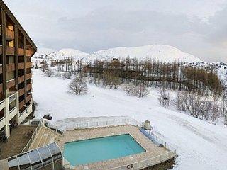 Apt F2 dans résidence haut de gamme avec piscine, L'Alpe-d'Huez