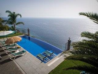 Ocean Cliff Villa -  Relax On The Sea with heated pool - 12391/AL, Ponta do Sol