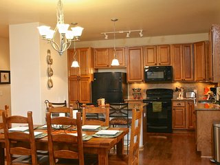 Open kitchen and dining area perfect to entertaining your guests