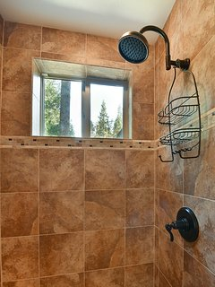 Master Bathroom Shower with dormer window