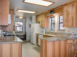 Kitchen with new cabinets & countertops