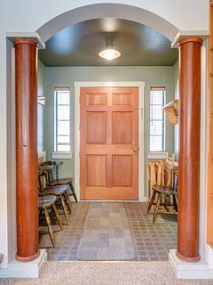 Front Door & Foyer