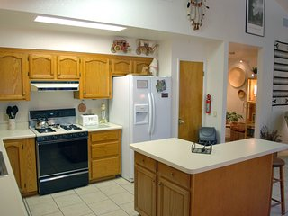 Large open kitchen area