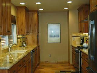 New remodeled kitchen with granite counter tops all new cabinets and flooring, stainless steel appliances - main floor