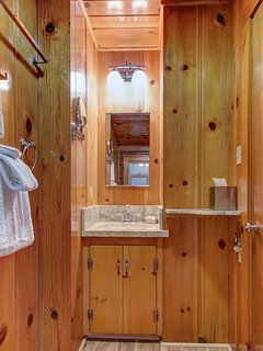 Master Bathroom Entrance