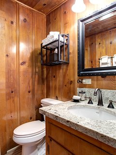 Bathroom 2 - Granite Counter and Sink