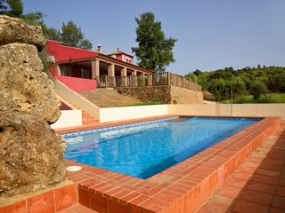 Up to 16 people holiday home between Seville and Cordova. Private pool.