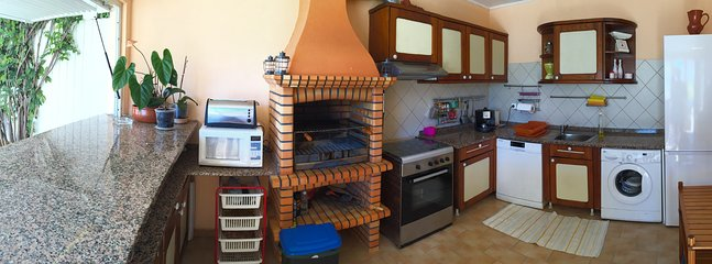 Barbeque kitchen