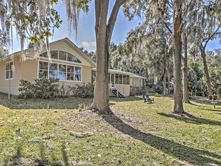 Waterfront 3BR Dunnellon House w/Private Dock
