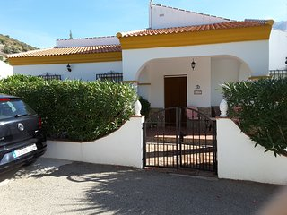 Three bed-roomed air conditioned villa with own swimming pool, Alcaucin