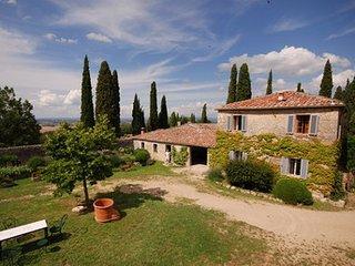 Castello di Grotti - Residenza d'epoca a Siena - La Mucca I, Ville di Corsano