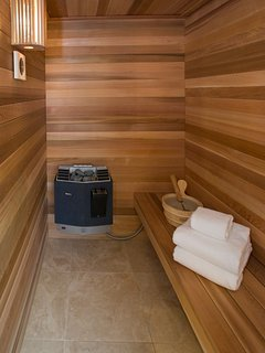 Sauna in Master Bathroom #1