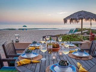 Enjoy dinner al fresco