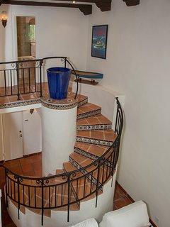 Salite le scale fino al livello superiore
