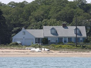 2BR Coastal Home in East Harwich– Private Setting Opposite Pleasant Bay Beach