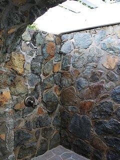 16-Native Stone Garden Shower in Master Bath