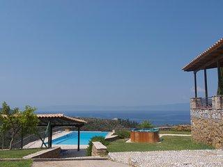 Pool and covered pergola