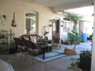 small backyard home in Rancho Cucamonga Ca Usa
