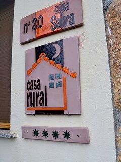 Casa rural oficial con cuatro estrellas