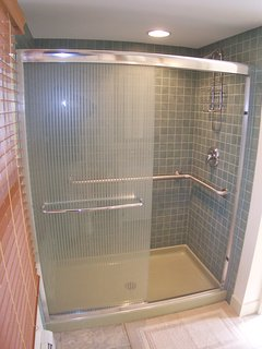 Including the new master bath with its extra large, beautifully tiled shower.
