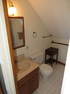 The guest suite also has its own private full bath.