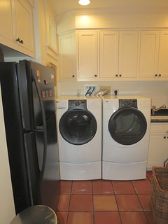 ...plus an extra fridge and washer/dryer