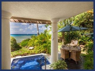 Fantastic 2 Bed Villa - Private Spa, Ocean Views, Weston