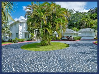 Fantastic 6 Bed Beachfront Home with Private Gym, Saint Peter Parish