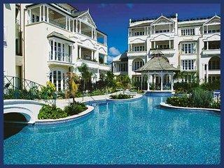 Lavishly decorated 1 bedroom condominium near the beach, set within a brilliant resort., Maynards