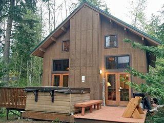 Mt. Baker Rim Family Cabin #44 - HOT TUB, FIREPLACE, WIFI*, PETS OK, BBQ, SLPS-8