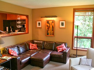 Snowater Condo #41 - A spacious condo with private sauna and soaker tub! Wi-Fi!