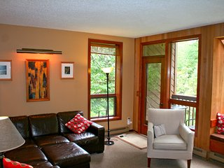 Snowater Condo #41 - A spacious condo with private sauna Wifi and a soaker tub