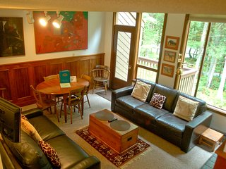 Snowater Family Condo #57 - FIREPLACE, WIFI*, DISHWASHER, WASHER/DRYER, SLEEPS-6