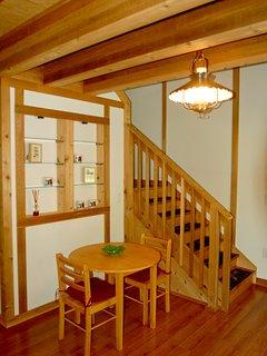 Sitting area inside front door