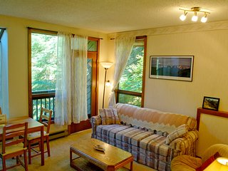 Snowater Condo #91 - 1st Floor Condo - Sleeps 2 - Close to Community Amenities!