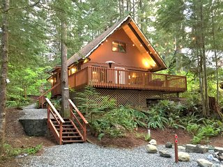 Snowline Cabin #98 - A cozy pet friendly cabin with a free standing wood stove