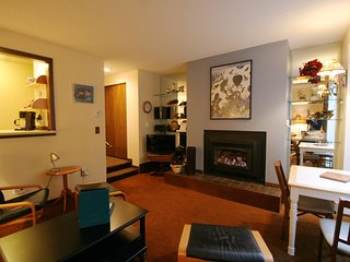 Snowater Condo #28 - Beautiful Ground Floor Condo - Sleeps 4 - Wi-Fi!