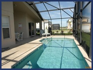 Emerald Island Resort vacation rental with lovely private heated pool, games room, near to Disney, Four Corners