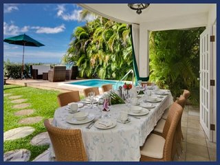 Stunning 4 Bed Home with Pool and Beach Views, St. James