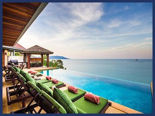 5036 - INFINITY EDGE POOL WITH FANTASTIC SEAVIEWS, Plai Laem