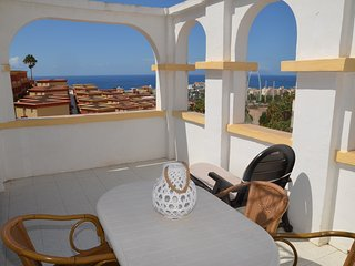 Big studio ,  the best views of costa adeje. 100% sunny, Costa Adeje