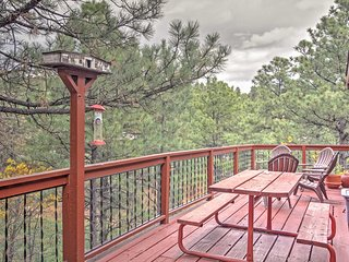 Beautiful & Rustic 3BR Alto/Ruidoso Condo - All New Appliances w/Air Conditioning, Wifi, Complex Pool Access &  Private Deck - Easy Access to Ski Apache, Horse Racing & More!