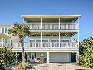 6530S - Beachfront Vacation Home, New Smyrna Beach