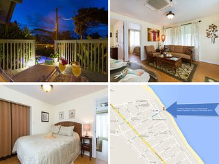 $125/NT Special June 14th-21st Luxurious Ocean View Cottage~Steps to the Beach!
